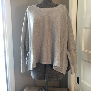 All Saints cape-style sweatshirt